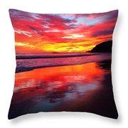 Color Blast Throw Pillow