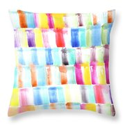Color Burst 3 Throw Pillow
