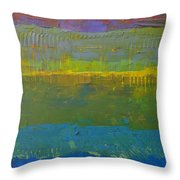 Color Collage Five Throw Pillow