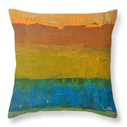 Color Collage Three Throw Pillow
