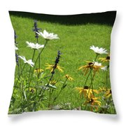 Color Combination Flowers Cc64 Throw Pillow