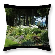 Color Combination Flowers Cc74 Throw Pillow