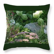 Color Combination Flowers Cc76 Throw Pillow
