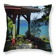 Color Combination Flowers Cc81 Throw Pillow