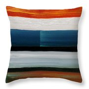 Color Decoded Throw Pillow