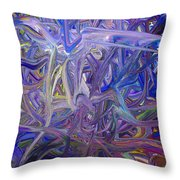 Color Energy 44 Throw Pillow