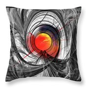 Color Expansion Throw Pillow