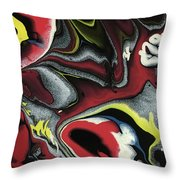 Color Explosion Throw Pillow