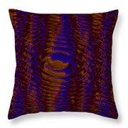 Color Fantasia Catus 1 No. 3 H A Throw Pillow