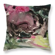 Color Fever 115 Throw Pillow