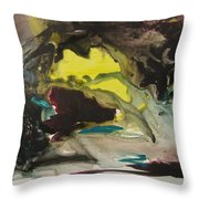 Color Fever 117 Throw Pillow