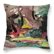 Color Fever 136 Throw Pillow