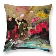 Color Fever 140 Throw Pillow