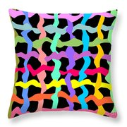 Color Field Theory, No. 3 Throw Pillow