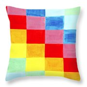 Color Flag Throw Pillow