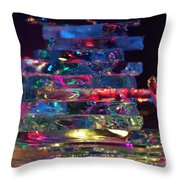 Color Glass Throw Pillow
