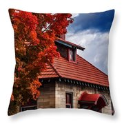 Color In Common Throw Pillow