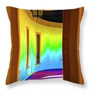 Color Light Throw Pillow
