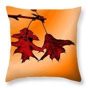 Color Me Autumn 3 Throw Pillow