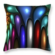 Color Me Up Throw Pillow