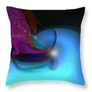 Color Movements Throw Pillow