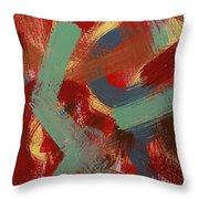 Color # 1-30 Throw Pillow