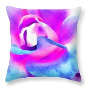 Color Of Charisma Throw Pillow