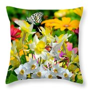 Color Of Nature Throw Pillow