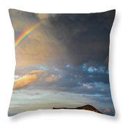 Color Of The Rain Throw Pillow