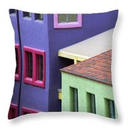 Color Of Tucson Throw Pillow
