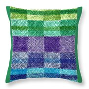 Color Of Water Throw Pillow