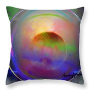 Color Perception Throw Pillow