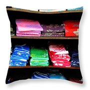 Color Rules Throw Pillow