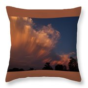Painting With Clouds, Part 4 Throw Pillow