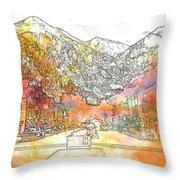 Colorado 01 Throw Pillow