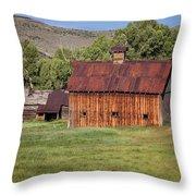 Colorado Barn 5817 Throw Pillow