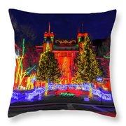 Colorado Christmas Throw Pillow