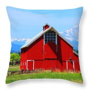 Colorado Country Fine Art Print Throw Pillow
