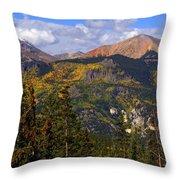 Colorado Fall Throw Pillow