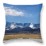 Colorado Glory Throw Pillow