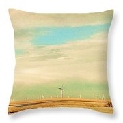 Colorado I-70 Throw Pillow