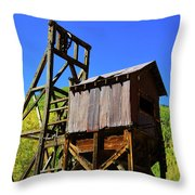 Colorado Mining Throw Pillow