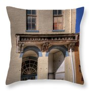 Belvidere Theatre Throw Pillow