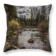 Colorado Mornings Throw Pillow