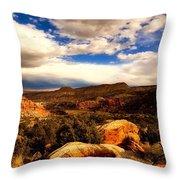 Colorado Mountain Splendor Throw Pillow