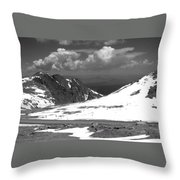 Colorado Mountians 1 Throw Pillow