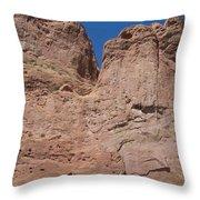 Colorado Redrock Throw Pillow