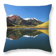 Colorado Reflections Throw Pillow