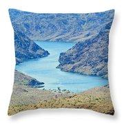Colorado River Arizona Throw Pillow