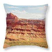 Colorado River View Throw Pillow